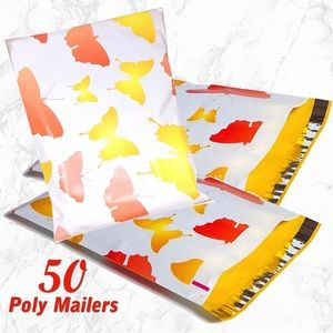 Other - 50 Butterfly Poly Mailers 10x13 Shipping bag